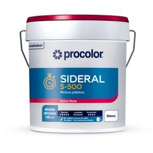 Pintura plástica Procolor Sideral S-500
