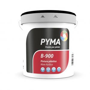 Pintura Plastica Mate B-900 Pyma