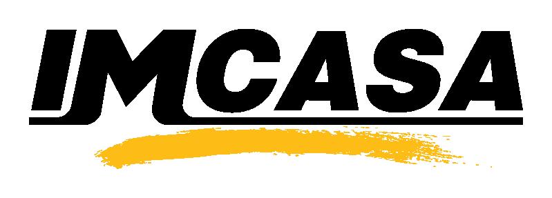 Logo imcasa 2020 negro y amarillo